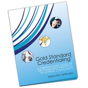 MSP Credentialing Workbook Gold Standard Team Med Global