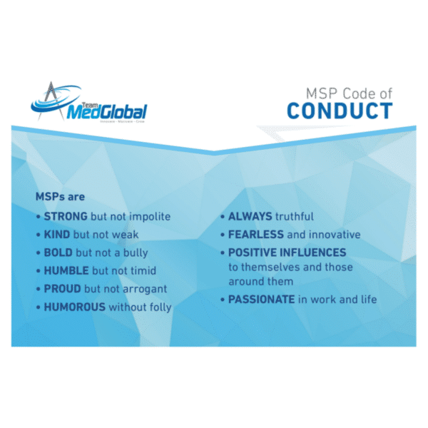MSP Code of Conduct Team Med Global
